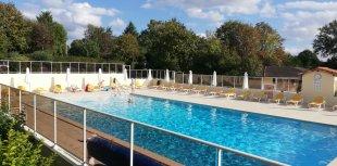 zwembad <br>verwarmd zwembad 25 x 10