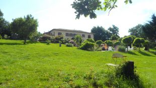 The garden <br>of 6000m²