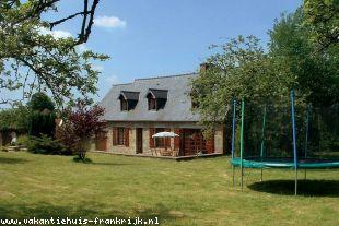 Huis te huur in Manche is geschikt voor gezinnen met kinderen in Midden-Frankrijk.