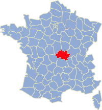 Allier Frankrijk