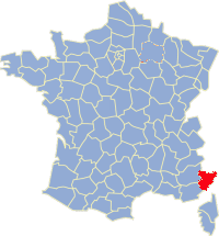 Departement Alpes Maritimes