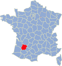 departement Lot et Garonne