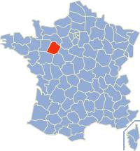 Departement Sarthe