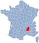 Ardeche Frankrijk