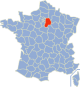 Seine et Marne Frankrijk