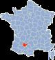 Tarn et Garonne Frankrijk