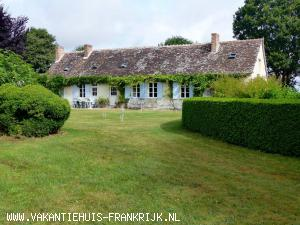 Holiday rental: Lovely holiday house, heated pool, tennis court, bikes, gardens, sleeps 2-11 in Loir et Cher.